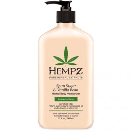 "Hempz Sugar&Vanilla bean Herbal Moisturizer - Молочко для тела ""Карамель и Ваниль"", 500мл"