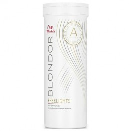 Wella Blondor Freelights - Пудра белая осветляющая, 400гр