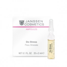 Janssen Cosmetics Ampoules De-Stress (sensitive skin) - Антистресс, 25*2мл