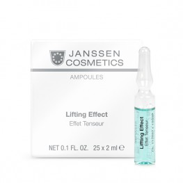 Janssen Cosmetics Ampoules Lifting Effect (instant anti-wrinkle) - Лифтинг-эффект, 25*2мл