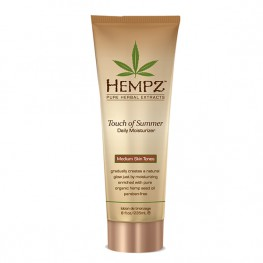Hempz Touch of Summer Medium Skin Tones - Молочко для тела с Бронзантом, 235мл