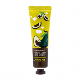 Tony Moly Natural Green Hand Cream Avocado - Крем для рук, 30мл