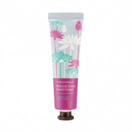 Tony Moly Natural Green Hand Cream Lotus - Крем для рук, 30гр