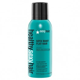 SexyHair Soya Want Flat Hair-Hot Iron Spray - Спрей для горячих щипцов, 150мл