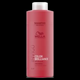 Wella Professionals Invigo Brilliance - Шампунь для защиты цвета окрашенных нормальных и тонких волос, 1000мл