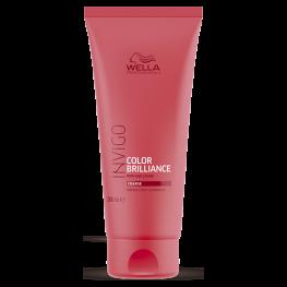 Wella Professionals Invigo Brilliance - Бальзам-уход для защиты цвета окрашенных жестких волос, 200мл