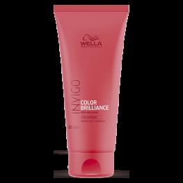 Wella Professionals Invigo Brilliance - Бальзам-уход для защиты цвета окрашенных нормальных и тонких волос, 200мл