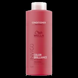 Wella Professionals Invigo Brilliance - Бальзам-уход для защиты цвета окрашенных нормальных и тонких волос, 1000мл