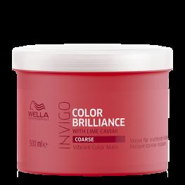 Wella Professionals Invigo Brilliance - Маска-уход для защиты цвета окрашенных жестких волос, 500мл