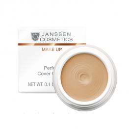 Janssen Cosmetics Perfect Cover Cream - Крем-камуфляж с высокой кроющей способностью тон 01, 5мл