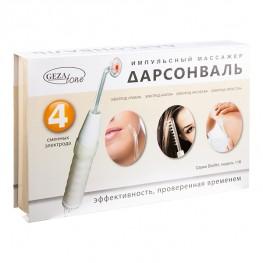 GezaTone Biolift4 118 - Импульсный массажер для лица, тела и волос (дарсонваль)