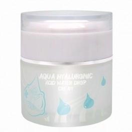 Elizavecca Aqua Hyaluronic Acid Water Drop Cream - Крем для лица увлажняющий с гиалуроновой кислотой, 50мл
