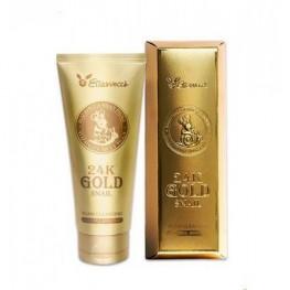 Elizavecca 24K Gold Snail Cleansing Foam - Пенка для умывания, 180мл
