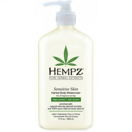 Hempz Sensitive Skin Herbal Moisturizer - Молочко  для тела, 500мл